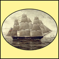Tall ships on T-shirts and mugs